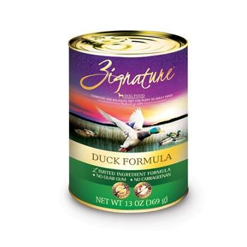 Zignature Duck Formula Canned Dog Food