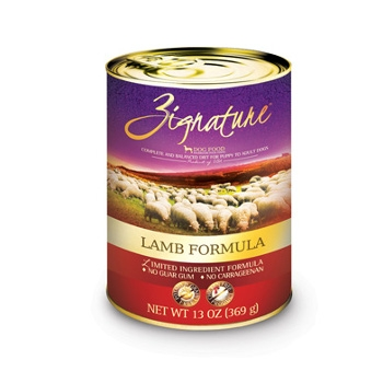 Zignature Lamb Formula Canned Dog Food