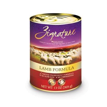 Zignature Lamb Formula Canned Dog Food