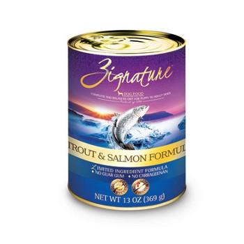 Zignature Trout & Salmon Formula Canned Dog Food