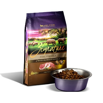 Zignature Pork Formula Dry Dog Food