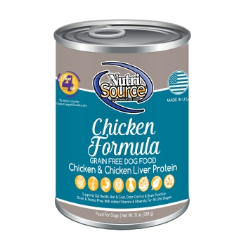 NutriSource® Grain Free Chicken Canned Dog Food