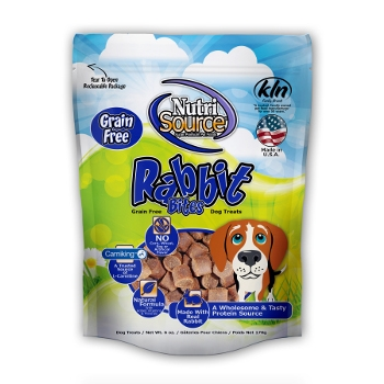 NutriSource® Grain Free Rabbit Dog Treats