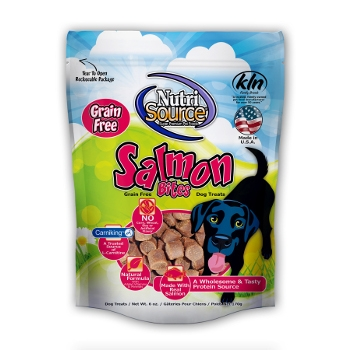 NutriSource® Grain Free Salmon Dog Treats
