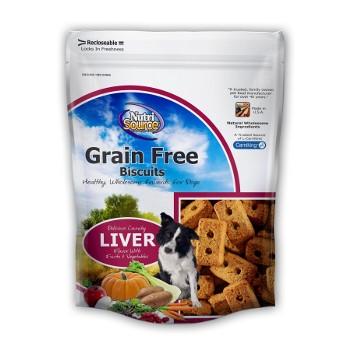 NutriSource® Grain Free Liver Dog Biscuits