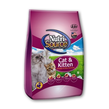 NutriSource® Chicken & Rice Cat & Kitten Dry Food