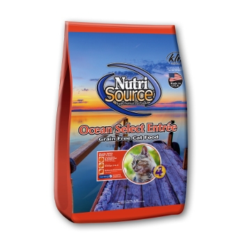 NutriSource® Ocean Select Entrée Grain Free Dry Cat Food