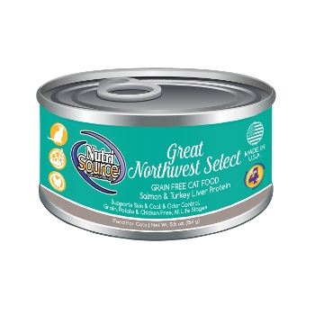 NutriSource® Great Northwest Select Grain Free Canned Cat Food