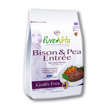 PureVita™ Bison & Pea Grain Free Dry Dog Food