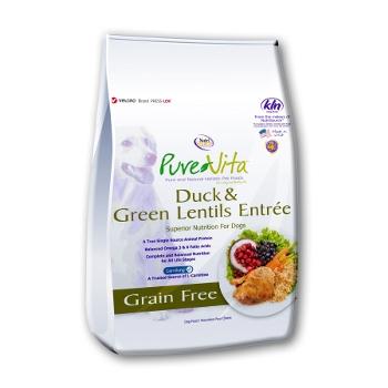 PureVita™Duck & Green Lentils Grain Free Dry Dog Food