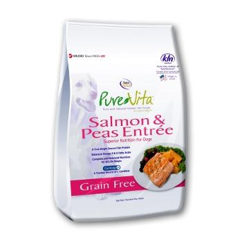 PureVita™Salmon & Peas Entrée Grain Free Dry Dog Food