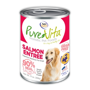 PureVita™ Grain Free Salmon Canned Dog Food
