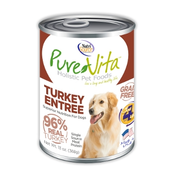 PureVita™ Grain Free Turkey Canned Dog Food