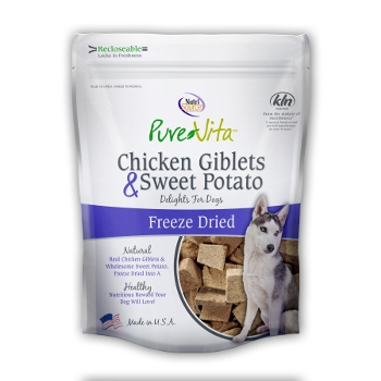PureVita™ Chicken Giblets & Sweet Potato Dog Treat