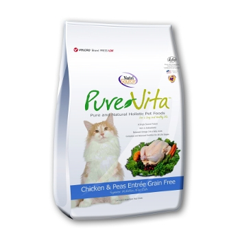 PureVita™ Grain Free Chicken & Peas Dry Cat Food