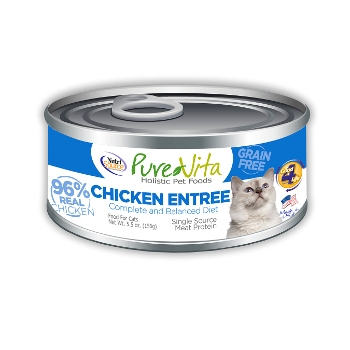 PureVita™ Grain Free Chicken Canned Cat Food