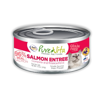 PureVita™ Grain Free Salmon Canned Cat Food