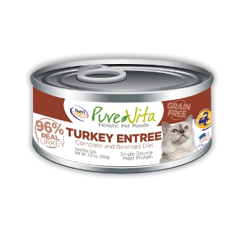 PureVita™ Grain Free Turkey Canned Cat Food