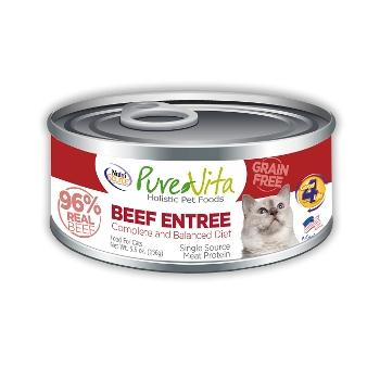 PureVita™ Grain Free Beef Canned Cat Food