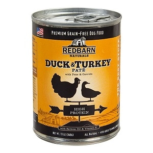 Grain Free Duck & Turkey Pate Canned Dog Food