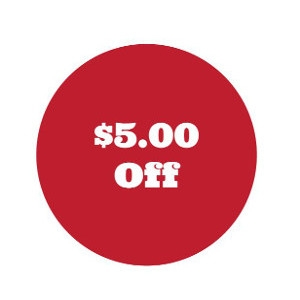 $5 Off Any Sale Over $50