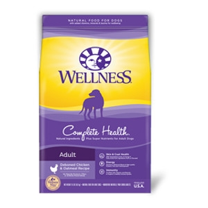 Wellness Complete Health Chicken & Oatmeal Adult Dry Dog Food