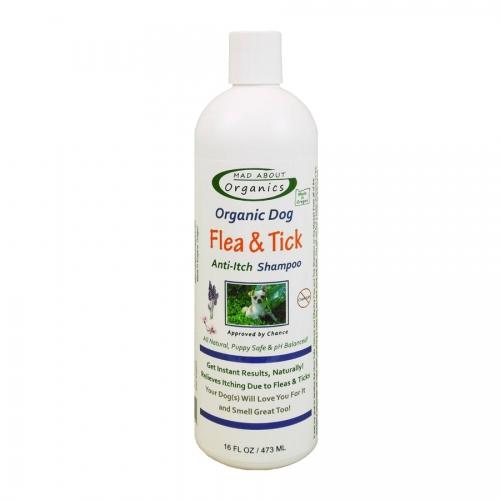 Mad About Organics Flea and Tick Anti- Itch Shampoo