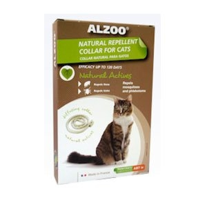 Alzoo Natural Repellent Collar For Cats