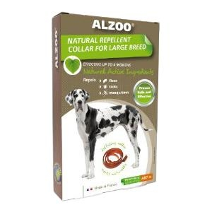 Alzoo Natural Repellent Collar For Large Breed