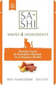 Sa-Shi Bonito Tuna and Pumpkin Recipe