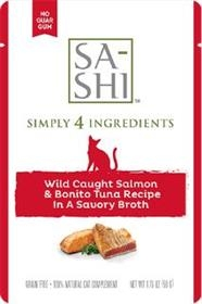 Sa-Shi Wild Caught Salmon and Bonito Tuna Recipe