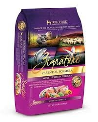 Zignature Dry Dog Food Zssential Flavor