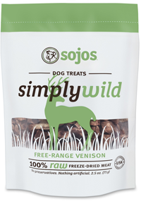 Sojos Simply Venison Flavored Treats