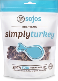 Sojos Simply Turkey Flavored Treats