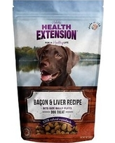 Health Extension Bacon And Liver Bully Puffs