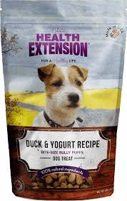 Health Extension Duck and Yogurt Bully Puffs