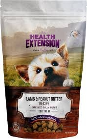 Health Extension Lamb and Peanut Butter Bully Puffs