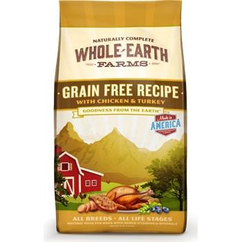 Whole Earth Farms Grain Free Chicken & Turkey Dry Dog Food