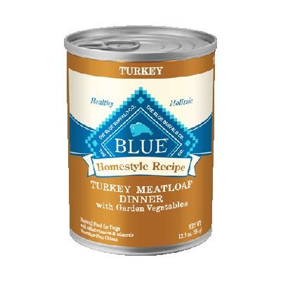 Turkey Meatloaf Dinner with Garden Veggies Canned Dog Food, 12.5 oz.