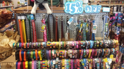 15% off  ALL Collars and Leashes