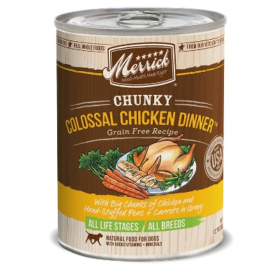 Grain Free Chunky Colossal Chicken Canned Dog Food, 12.7 oz.