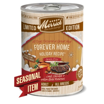 Forever Home Holiday Grain Free Seasonal Canned Dog Food, 13.2 oz.