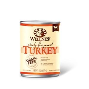95% Turkey Grain Free Canned Dog Food Mixer or Topper, 13.2 oz.