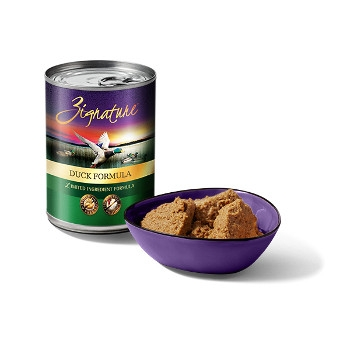 Zignature Duck Canned Dog Food, 13 oz.