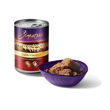 Zignature Lamb Canned Dog Food, 13 oz.