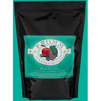 Fromm Four Star Duck A La Veg Grain Free Dry Cat Food