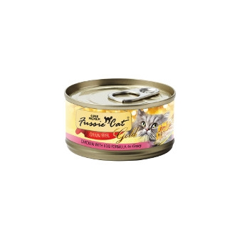 Fussie Cat Chicken with Egg Canned Cat Food