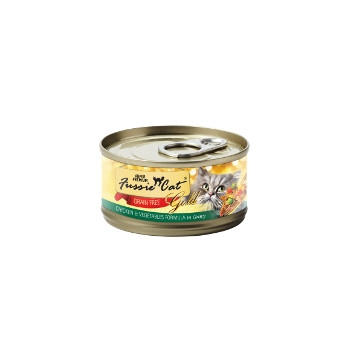 Fussie Cat Chicken & Vegetables Canned Cat Food
