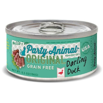 Grain Free Duck Canned Cat Food