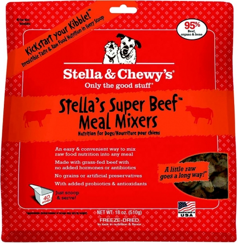 Stella & Chewy's 16oz Meal Mixer SuperBlends  Beef